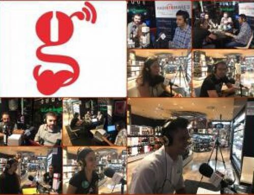 Programa especial de Gourmet FM en el Gourmet Experience Corte Ingles del Duque Sevilla
