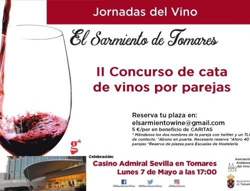 "JORNADAS DEL VINO ""EL SARMIENTO DE TOMARES"""