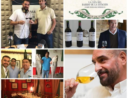 Entrevista a Bodegas Roda, Restaurante Nini y a Luis Vida en GourmetFM
