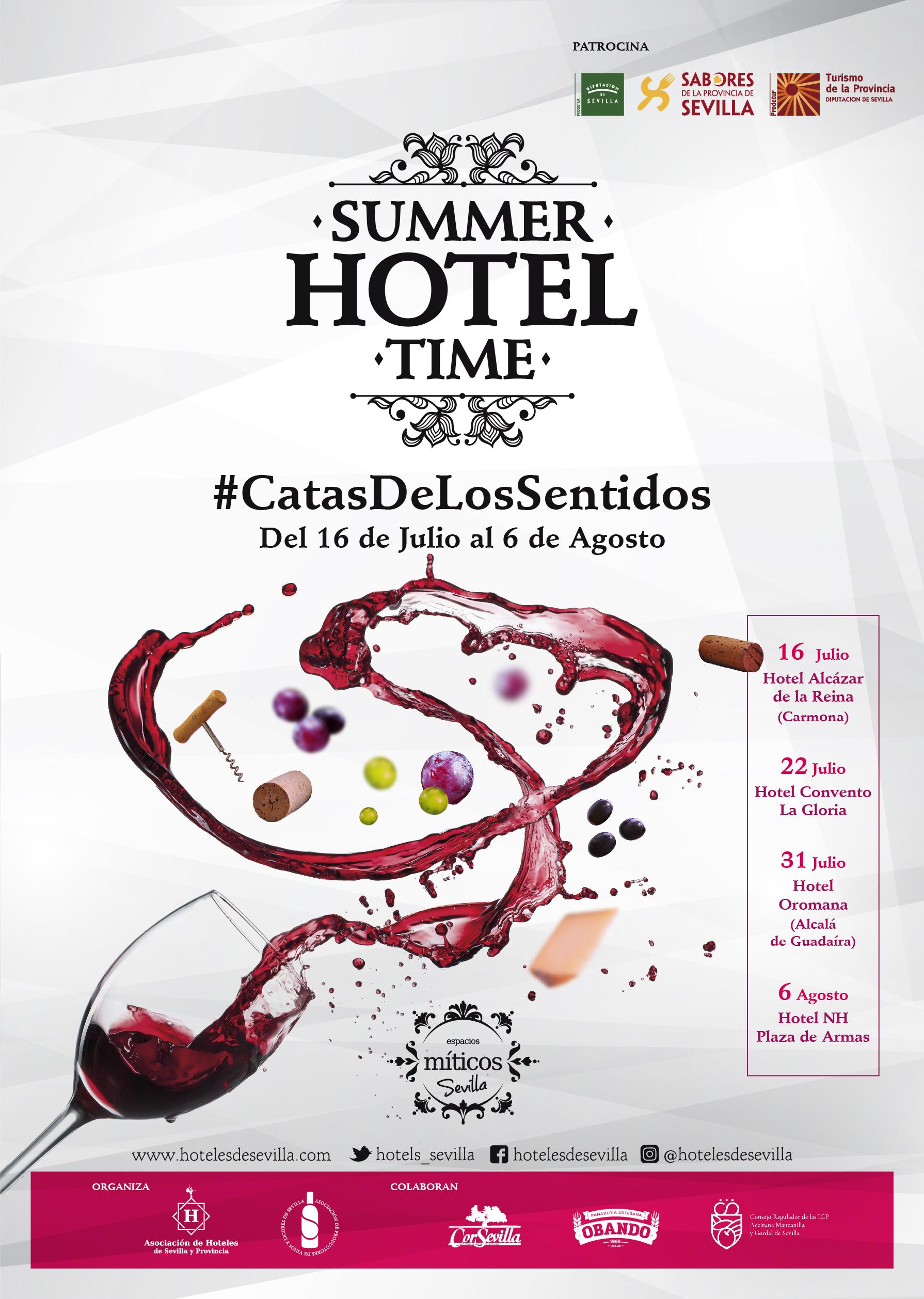 Catas de Vinos y Licores en los hoteles de Sevilla como homenaje a las personas que han servido a la sociedad durante el confinamiento